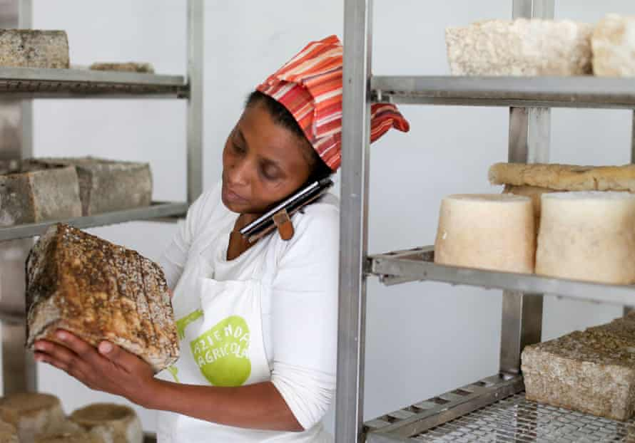 Agitu Ideo Gudeta produced organic milk and cheese using environmentally friendly methods.
