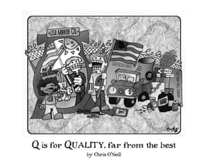 Q if for Quality, far from the best