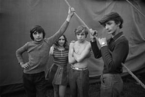 """From the series """"Living Together"""" Aue, Circus Hein, 1973All photographs: Ute Mahler/OSTKREUZ"""