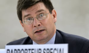 United Nations special rapporteur on human rights of migrants Francois Crépeau