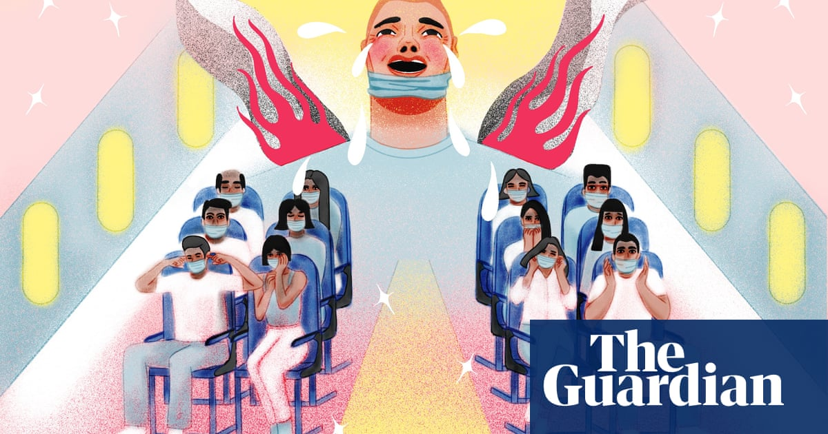 'Nobody ever put hands on me before': flight attendants on the air rage epidemic
