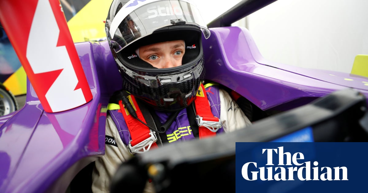 'The support left me speechless': how Sarah Moore returned to W Series grid