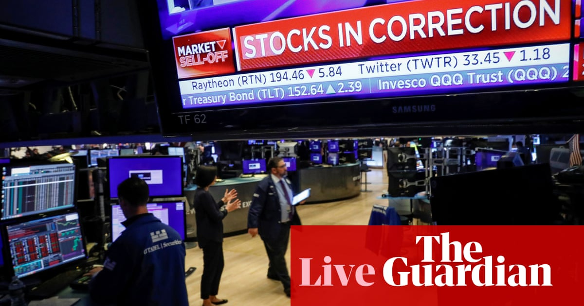 US and UK stock markets plunge as coronavirus panic hits shares ...