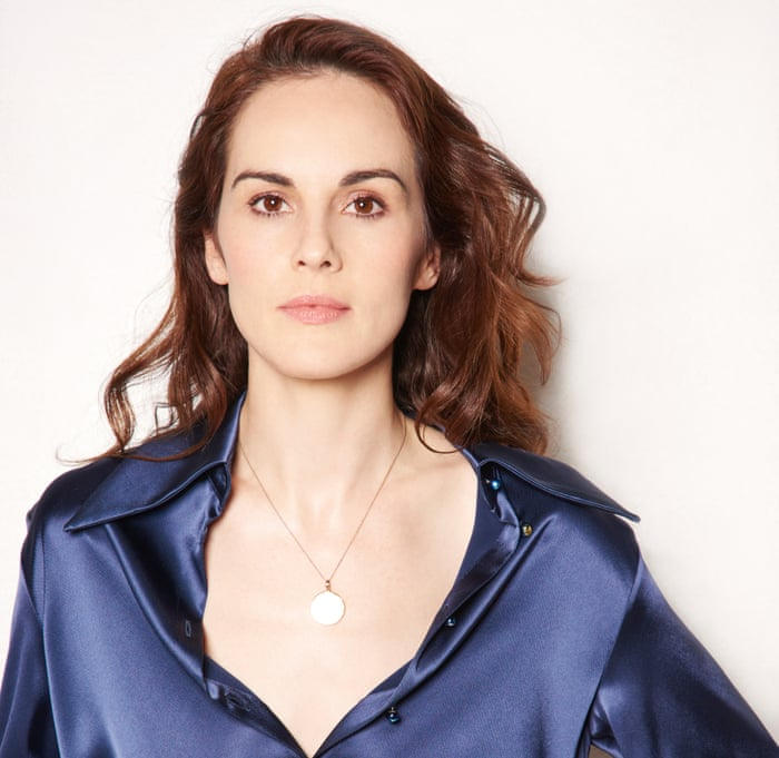 0943d721b8 Michelle Dockery: 'I consider myself a widow' | Television & radio ...