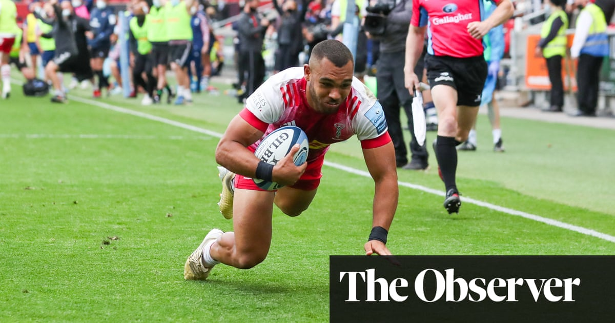 Harlequins into Premiership final after stunning extra-time win over Bristol