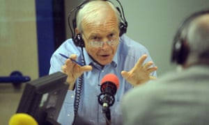 John Humphrys, the programme's highest paid presenter who Sands says is at his peak.
