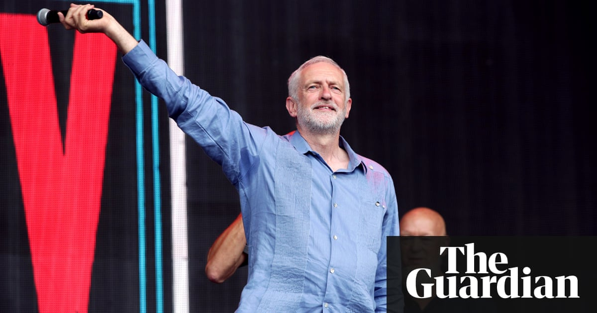 Labour confirms music festival in June, with Jeremy Corbyn on bill