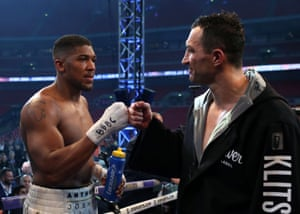 oshua and Klitschko have shown so much respect for each other through the whole build up and through out the fight.