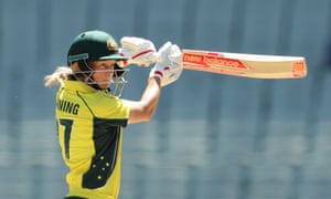 Meg Lanning of Australia is likely to miss the looming showdown with England in Brisbane.