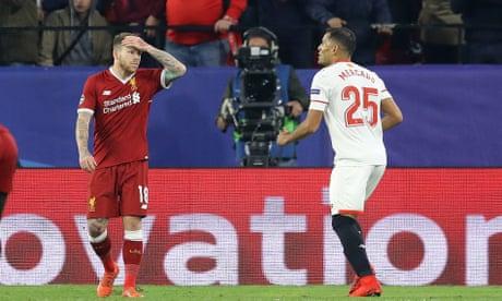 Alberto Moreno and Liverpool back to their slapdash worst in familiar collapse | Sachin Nakrani