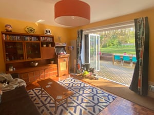 Nick Grant has a 60s-style home in Dunblane