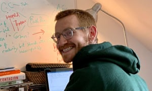 Dan McAteer, 23, is taking part in the University of Oxford's coronavirus vaccine trial.