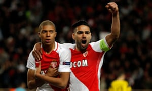 The last time Monaco won at home in the Champions League, Kylian Mbappé and Radamel Falcao were on the scoresheet.