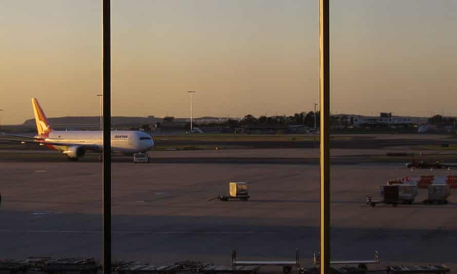 Sydney's international airport will be affected by the walk-out on Monday.