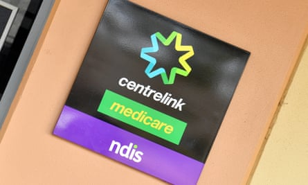 The Centrelink sign