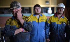 Tata Steel workers