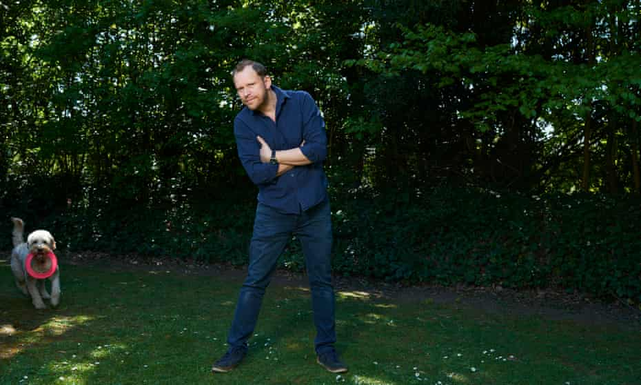 Robert Webb, now recovered from open-heart surgery, in London