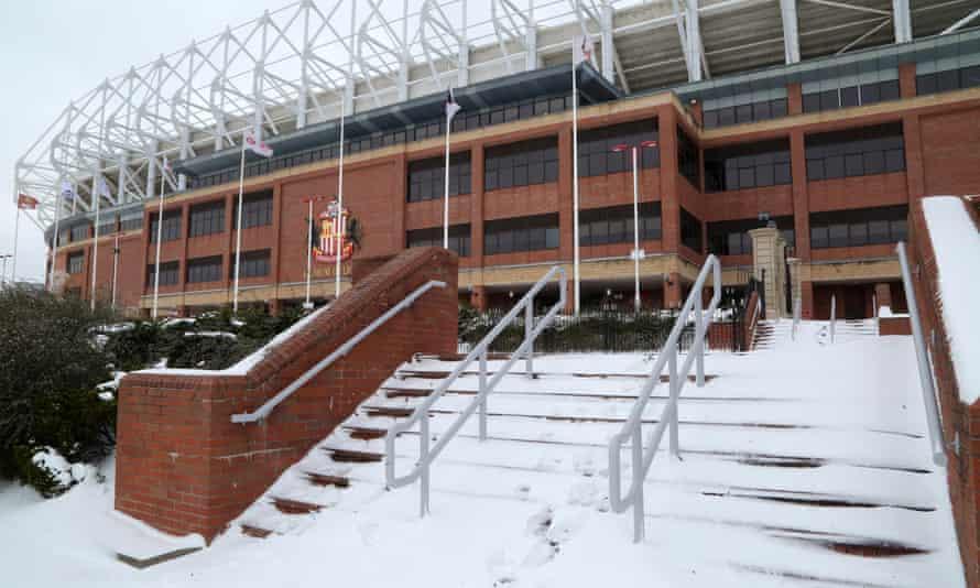 Sunderland Stadium of Light homeless