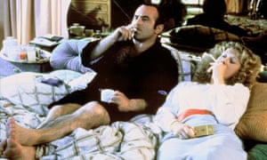 Mirren with Bob Hoskins in The Long Good Friday.