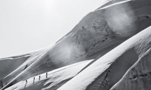 Climbers in the Alps … David Wilson explores climbing in all its forms in The Equilibrium Line.