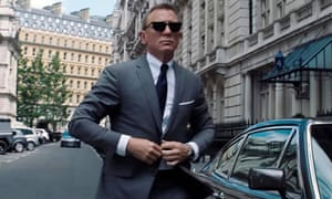 Daniel Craig in the new 007 film No Time To Die.