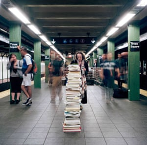 Times Square station, NYC.