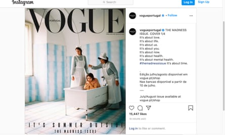 Vogue Portugal front cover
