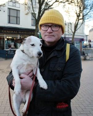 Simon Eaton and Buster