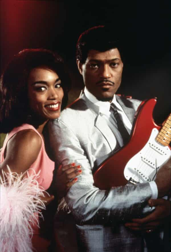 Angela Bassett and Laurence Fishburne in What's Love Got to Do With It.
