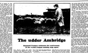 The Guardian, 1 November 1975.