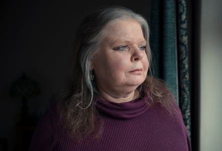Su Gorman, wife of Steve Dymond, a haemophiliac who contracted   hepatitis C after being treated with contaminated blood