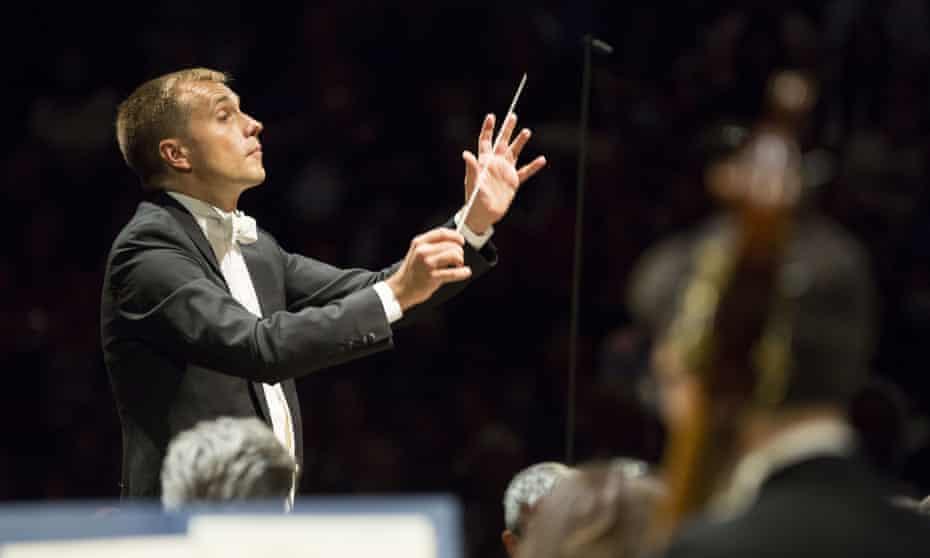 Vasily Petrenko and the Royal Philharmonic Orchestra at the Royal Albert Hall.