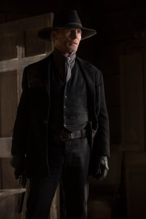 Peter Abernathy in Westworld: Strike the match