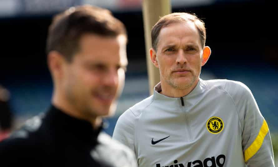 The Chelsea manager Thomas Tuchel does not want his players easing off before the Champions League final in Porto.
