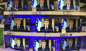 A record 23 million people tuned in to watch the speech in France.