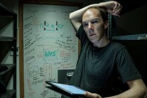 Benedict Cumberbatch as 'caustic maverick' Dominic Cummings in Brexit: The Uncivil War.