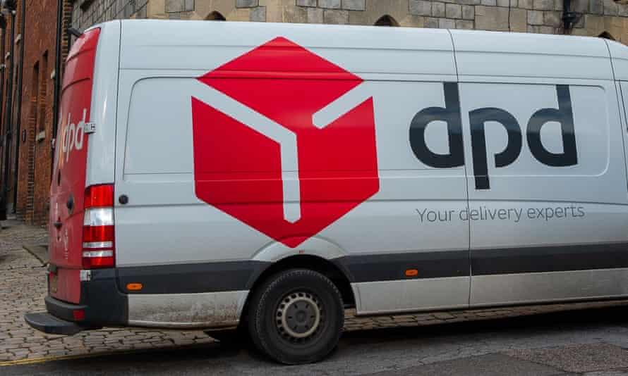 A DPD van