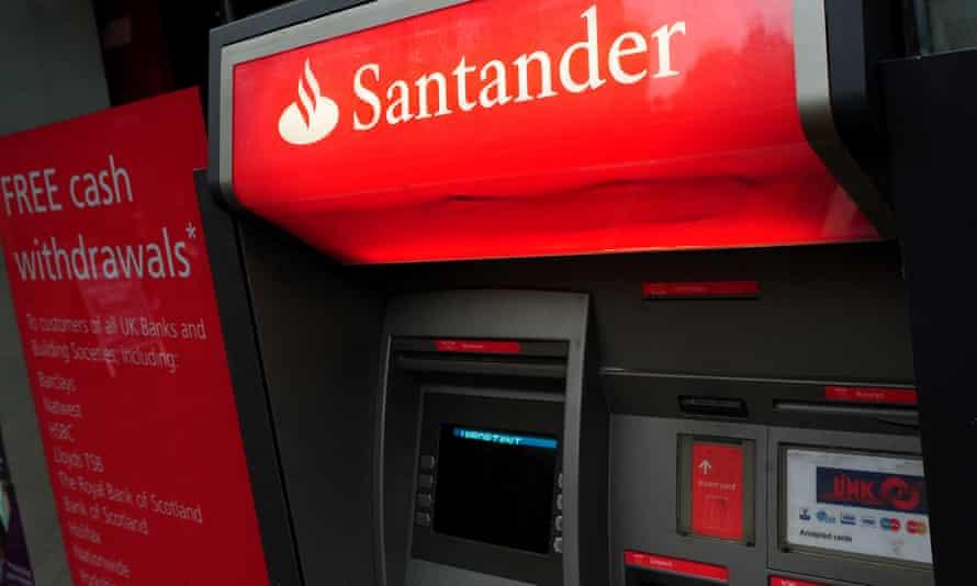A Santander ATM