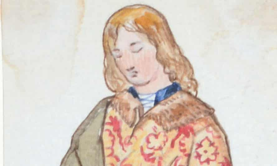 A detail from one of the sketches in John Tenniel's previously unpublished illustrations.