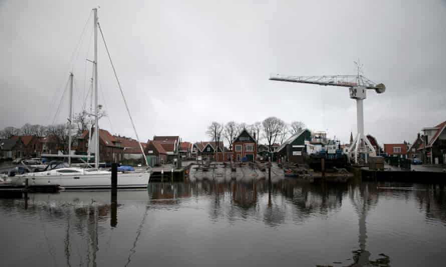 The harbour of the Dutch fishing town of Urk.