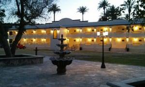 The La Huerta hotel, San Ignacio, Mexico.