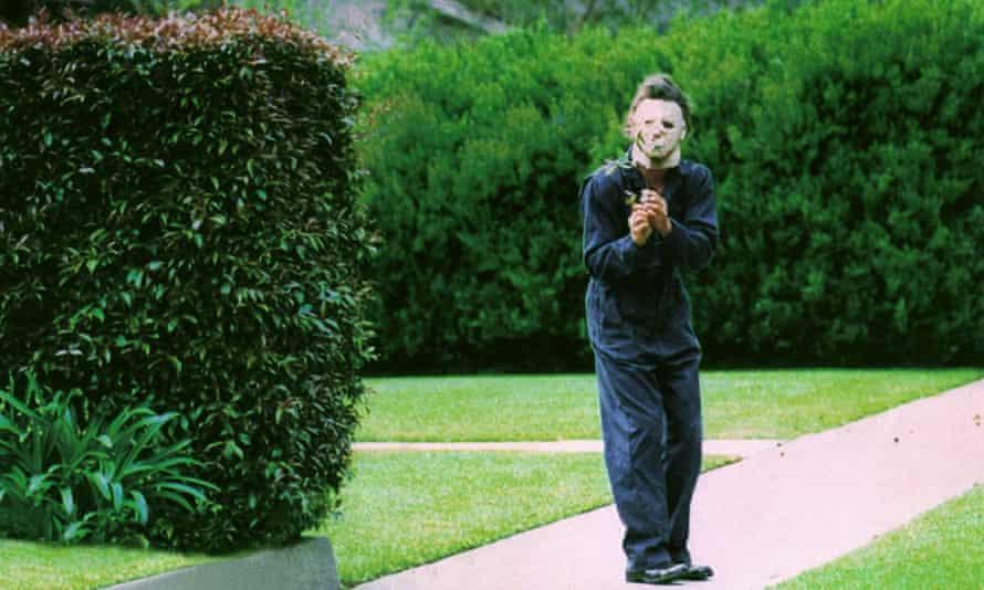 Tony Moran as Michael Myers in the 1978 original Halloween.
