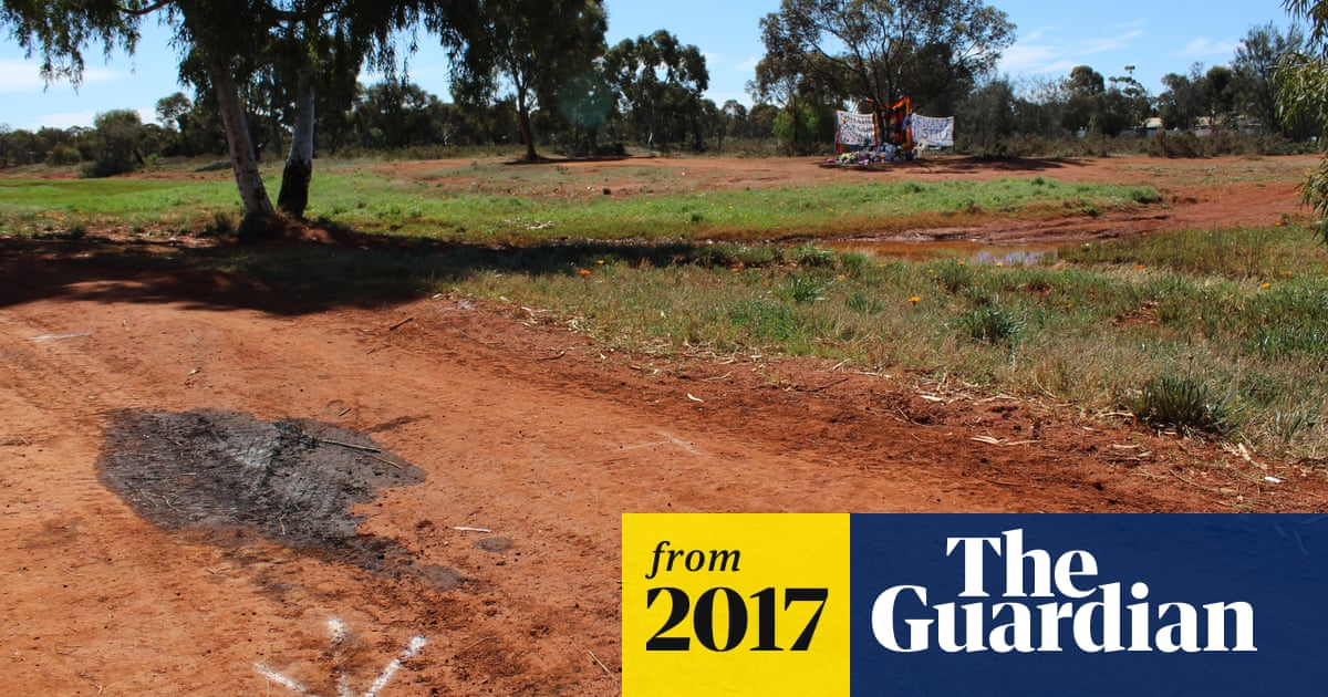 The killing of Elijah Doughty: oil patch at crime scene