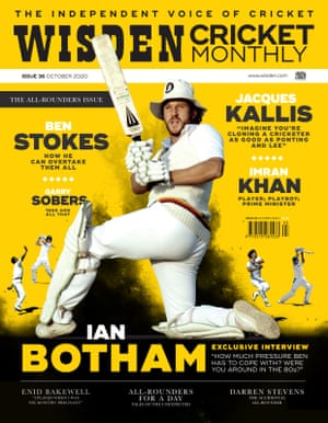 The new issue of Wisden Cricket Monthly is out now.