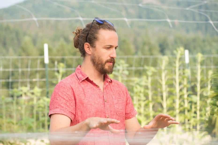 Mason Walker, the CEO of East Fork Cultivars.