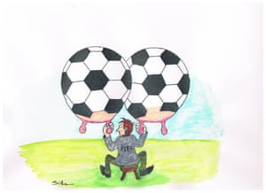 Siham Zabiri cartoon