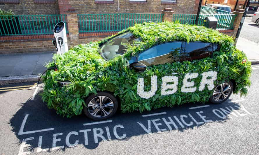 One of Uber's 'green cars'