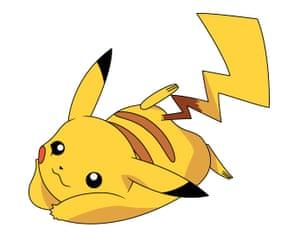 Pikachu, the Pokémon character