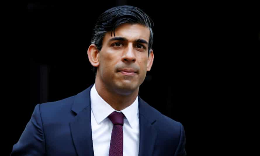 Rishi Sunak in a suit and  tie
