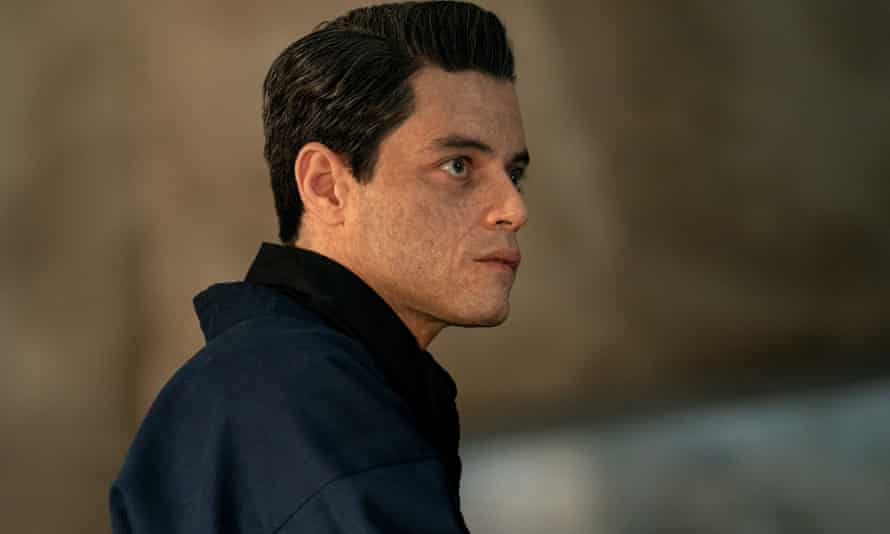 'Another in the endless gallery of antagonists who have conceived a personal obsession with Bond himself' … Rami Malek.